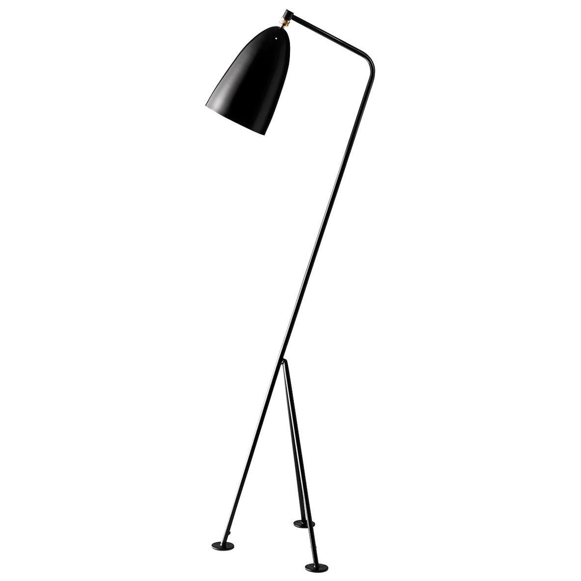 Greta Grossman Grasshopper Floor Lamp, Jet Black