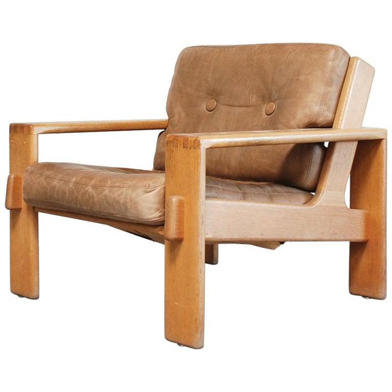 Asko Bonanza Armchair Brown Caramel Leather Chair Design Esko Pajamies