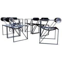 Seconda 602 Armchairs by Architect Mario Botta for Alias, 1982