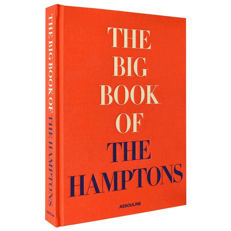 """""""The Big Book of the Hamptons"""" Book For Sale"""