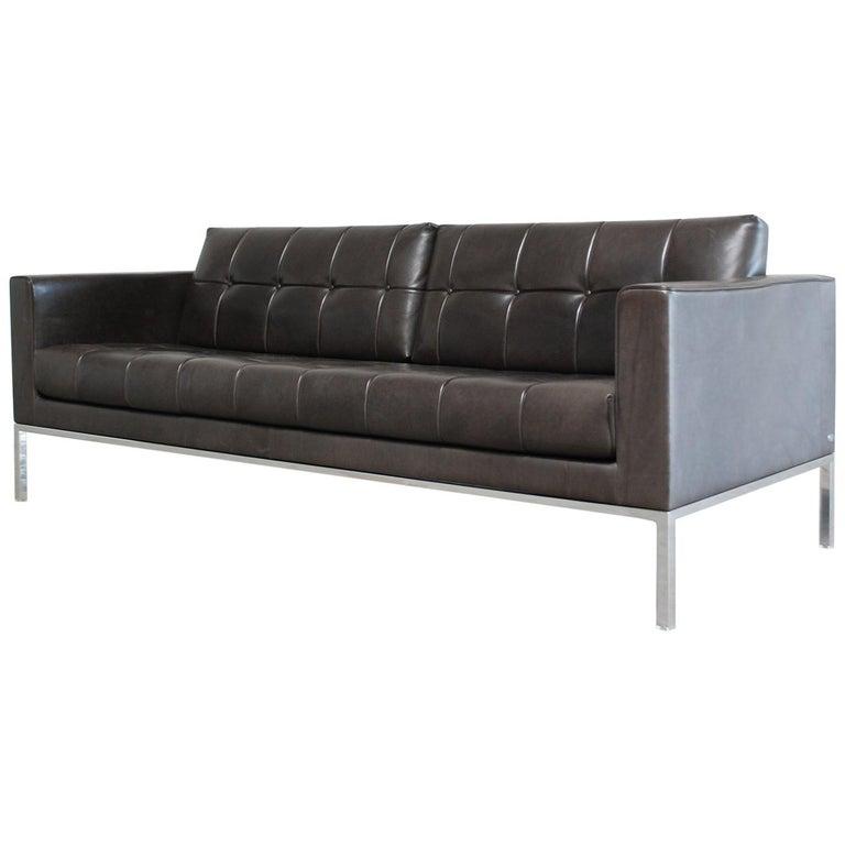De Sede DS 159 Brown Naturale Leather Sofa 1