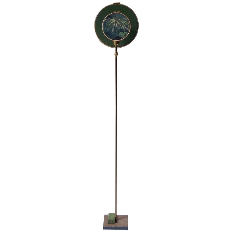 Circle Blue Grey, Floor Lamp by Sander Bottinga For Sale