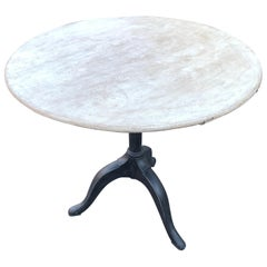 Gustavian Tilt-Top Pedestal Table, Sweden