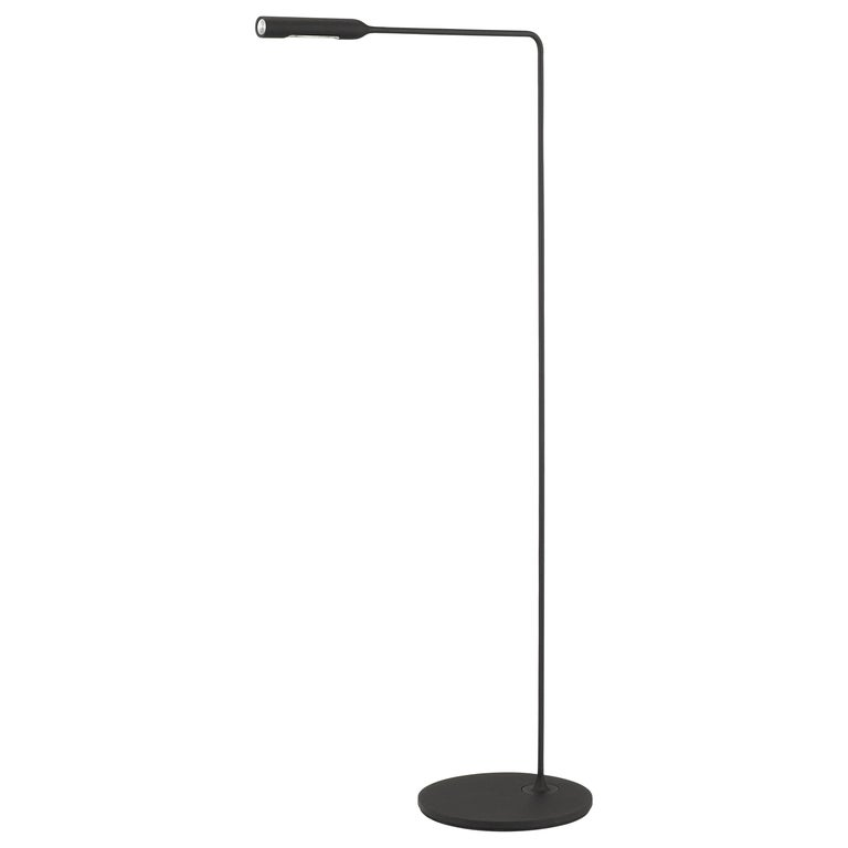 Lumina Flo Floor Lamp in Black by Foster+Partners For Sale