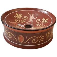 Richard Ginori Italy Spitton Ceramic, 1940s
