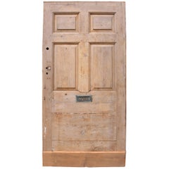 Antique English Pine Front Door
