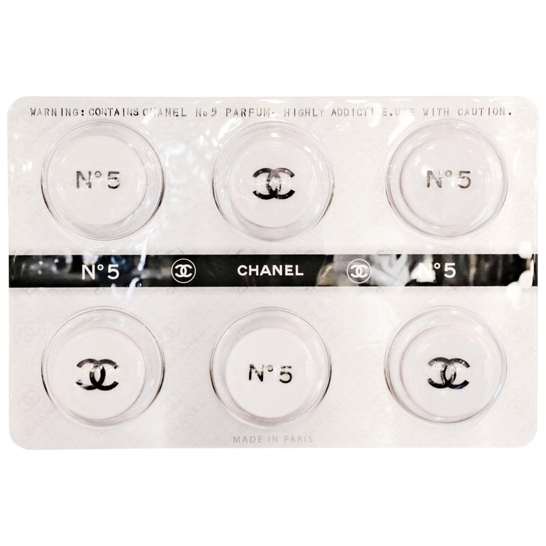 Pills Chanel White Panel Limited Edition For Sale