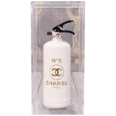 Chanel N°5 White and Gold Extinguisher