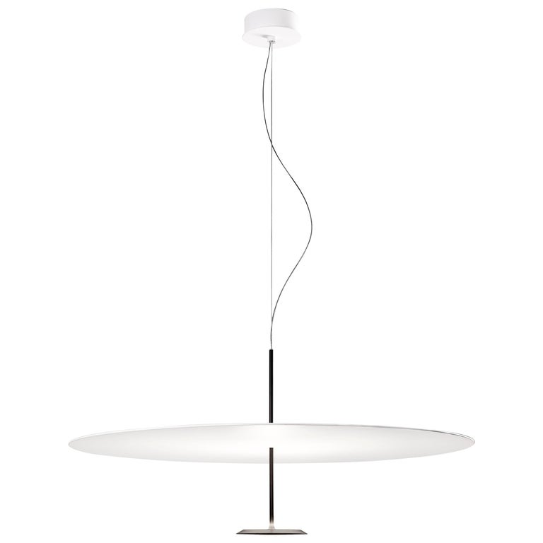 Lumina Dot Large Pendant Light in Black by Foster+Partners For Sale