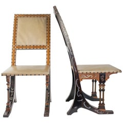 Pair of Chairs from Carlo Bugatti, 1880-1890