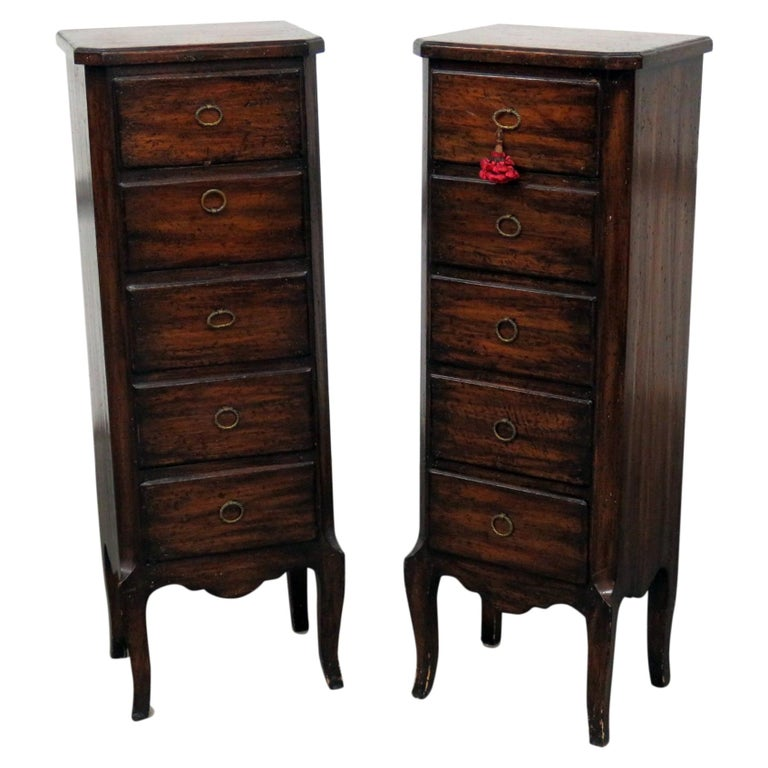 Pair of Louis XV Style Lingerie Chests For Sale