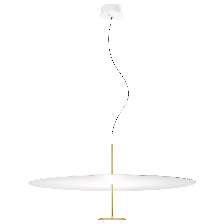 Lumina Dot Medium Pendant Light in Brass by Foster+Partners