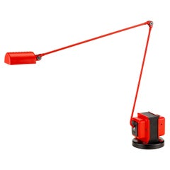 Lumina Daphine LED Table Lamp in Red by Tommaso Cimini