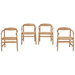 Set of Four Dining Chairs by Hans J. Wegner