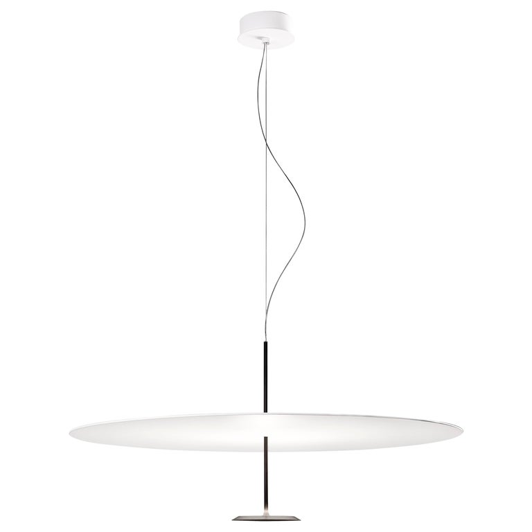 Lumina Dot Small Pendant Light in Black by Foster+Partners For Sale