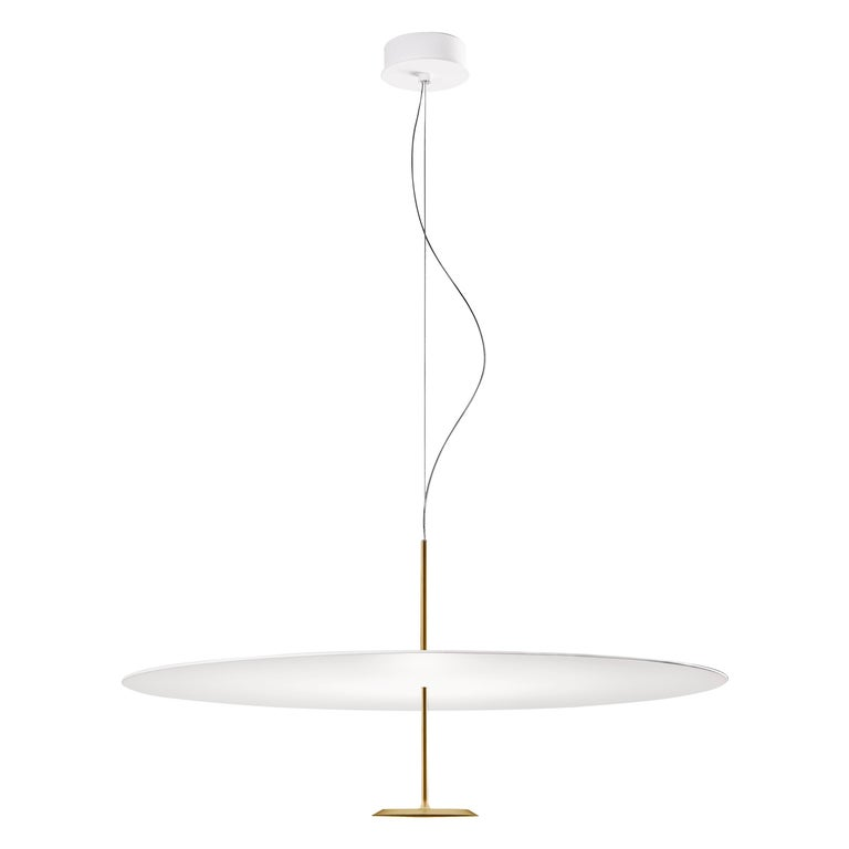 Lumina Dot Small Pendant Light in Brass by Foster+Partners For Sale