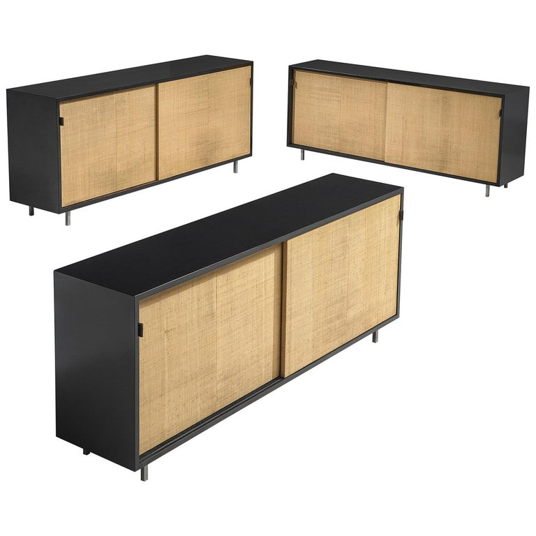 Early Florence Knoll Credenzas for Knoll Head Office For Sale