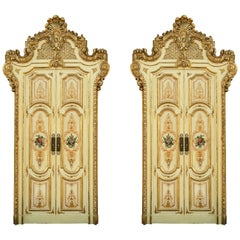 Set of Four Venetian Palace Double Doors