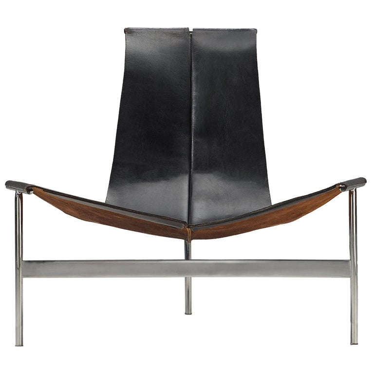T Lounge Chair '3LC' by Katavolos, Littell, & Kelley for Laverne International For Sale