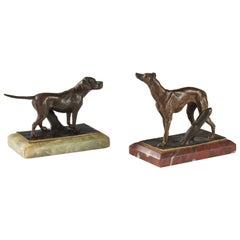 Charming Pair of Hunting Dogs