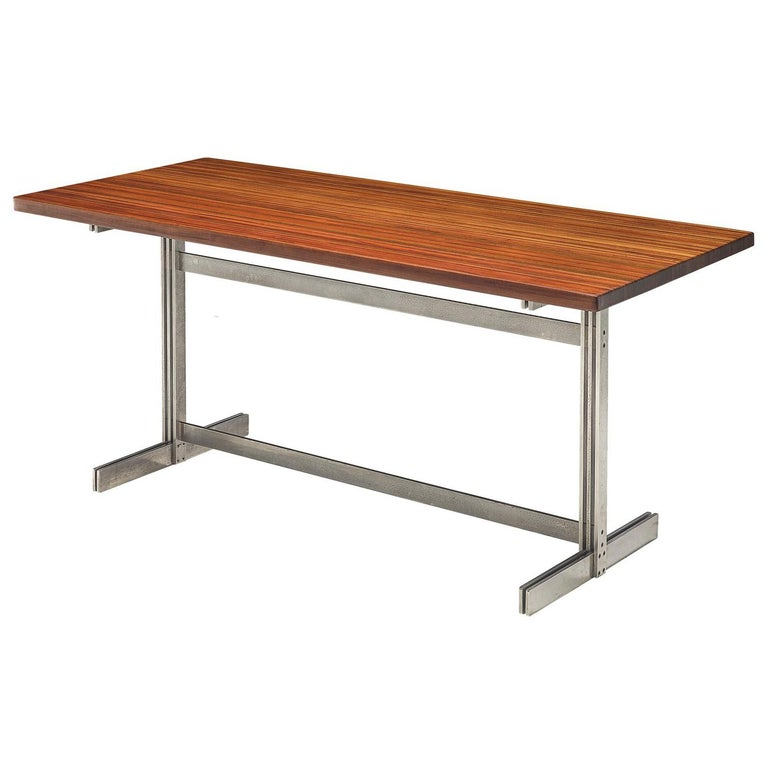 Jules Wabbes Wenge Writing Table For Sale