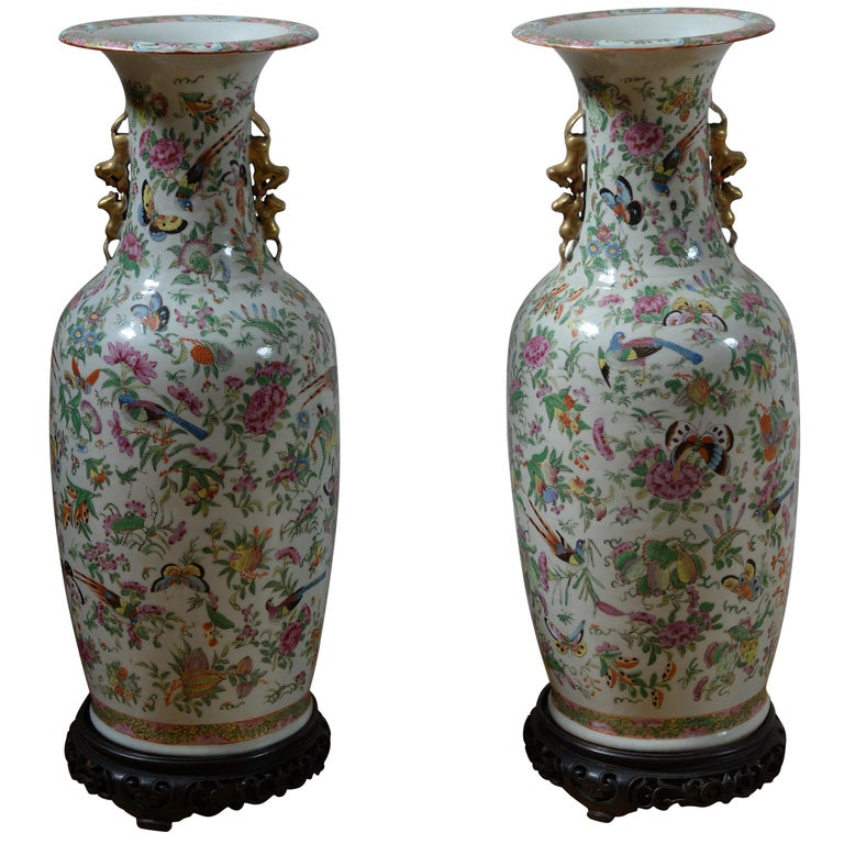 19th Century Chinese Vases For Sale