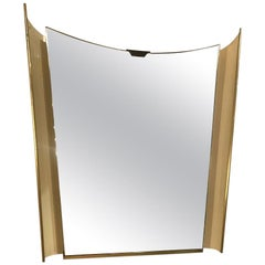 Französischer Beleuchteter Spiegel, 1970er Jahre
