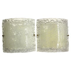 Italian Modern Glass Sconces