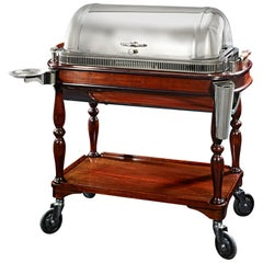 Christofle & Cie. Silver Meat Trolley