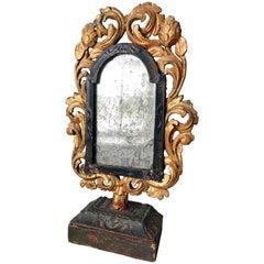 Italian Baroque Table Mirror, 17th Century