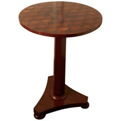 Unusual Inlaid Wine or Occasional Table
