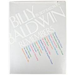 Billy Baldwin Remembers, by Billy Baldwin 1st Edition