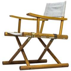 Rare Folding Chair by Sune Lindström for Nordiska Kompaniet