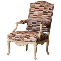 Louis XV Style Fauteuil by Sally Sirkin Lewis for J. Robert Scott