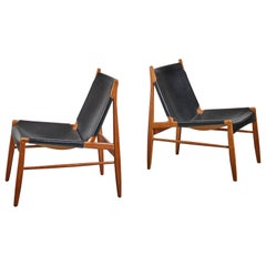 Pair of Franz Xaver Lutz Hunting Chairs, Germany