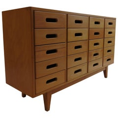 James Leonard Chest of Drawers in Beech by Esavian, 1950s