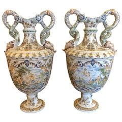 Pair of Veuve Perrin Vases