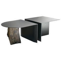 Missisquoi 01 Ash and Stone Coffee Table by Simon Johns No 04 of Edition of 13