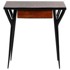 Small Midcentury Italian Desk or Writing Table
