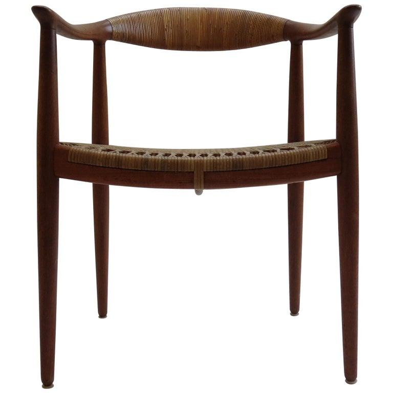 Original Early Version of the Chair by Hans J Wegner Johannes Hansen JH 501 For Sale