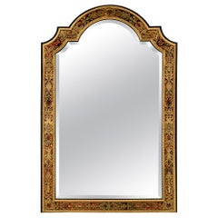French Mid-19th Century Louis XIV Style Boulle Mirror