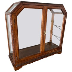 Early American Tabletop Wooden Display Case