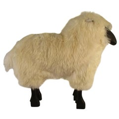 1965 Life-Size Sheep Sculpture