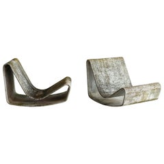 Willy Guhl Loop Chairs