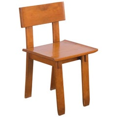 1935 Russel Wright American Modern Side Chair