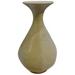 19th Century Cream Vase, Cambodia