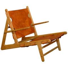 Hunting Chair, Model 2229, Børge Mogensen, Fredericia Furniture Denmark