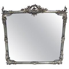 French Brass Framed Mirror