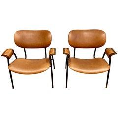 Midcentury Italian Chairs, circa Late 1950s