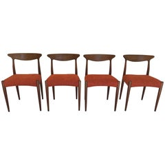 Set of Dining Chairs by Arne Hovmand Olsen T301